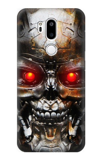 Printed Vintage Robot Skeleton Skull Head LG G7 ThinQ Case