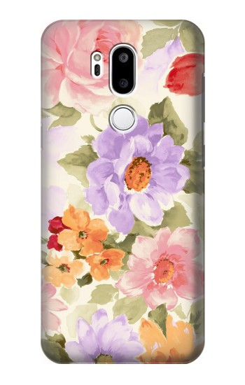 Printed Sweet Flower Painting LG G7 ThinQ Case