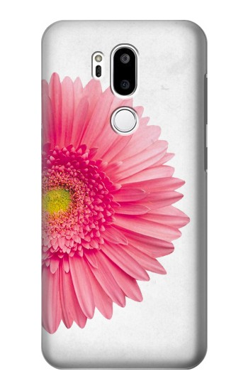 Printed Vintage Pink Gerbera Daisy LG G7 ThinQ Case