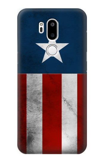 Printed Captain Star Flag of America LG G7 ThinQ Case