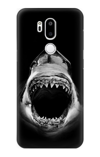 Printed Great White Shark LG G7 ThinQ Case