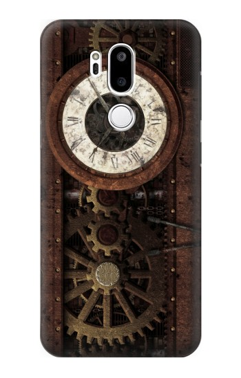 Printed Steampunk Clock Gears LG G7 ThinQ Case