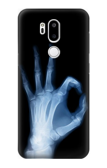 Printed X-Ray Hand Sign OK LG G7 ThinQ Case