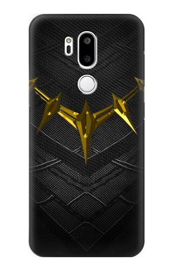 Printed Black Panther Inspired Costume Gold Necklace LG G7 ThinQ Case