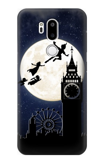 Printed Peter Pan Fly Fullmoon Night LG G7 ThinQ Case