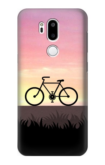 Printed Bicycle Sunset LG G7 ThinQ Case