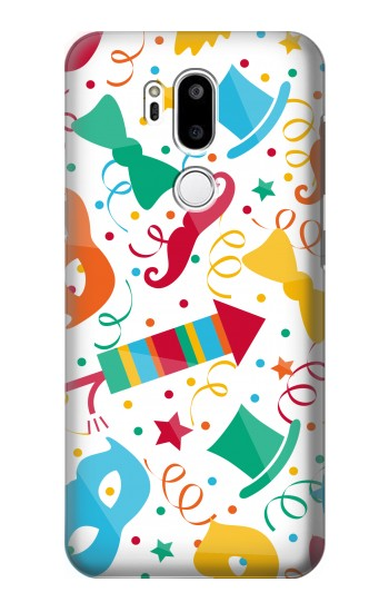 Printed Carnival Pattern LG G7 ThinQ Case
