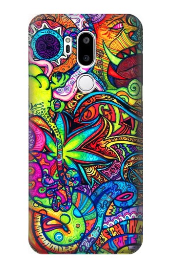 Printed Colorful Art Pattern LG G7 ThinQ Case