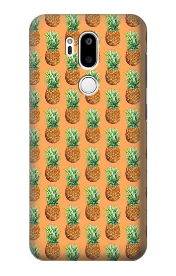 Printed Pineapple Pattern LG G7 ThinQ Case