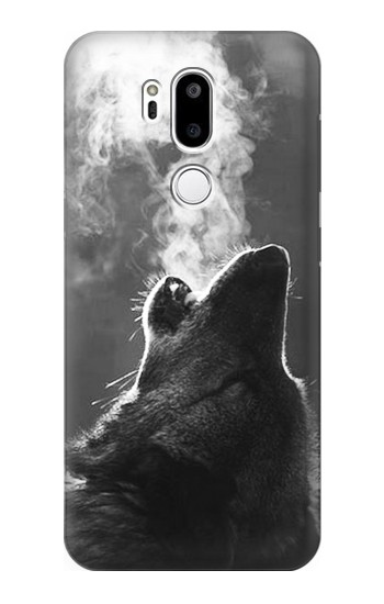 Printed Wolf Howling LG G7 ThinQ Case