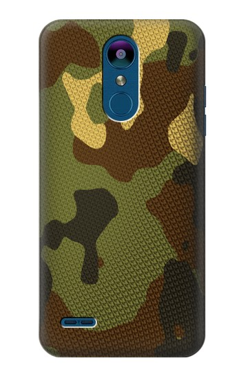 Printed Camo Camouflage Graphic Printed LG K8 (2018) Case