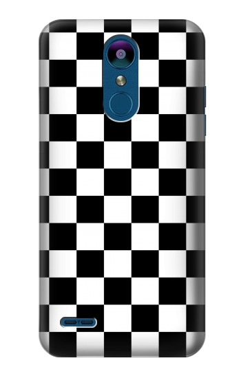 Printed Checkerboard Chess Board LG K8 (2018) Case