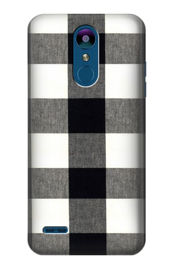 Printed Black and White Buffalo Check Pattern LG K8 (2018) Case