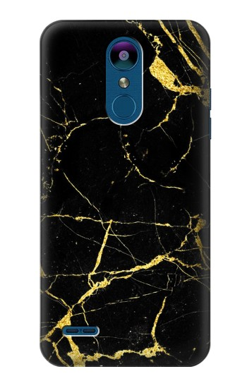 Printed Gold Marble Graphic Printed LG K8 (2018) Case