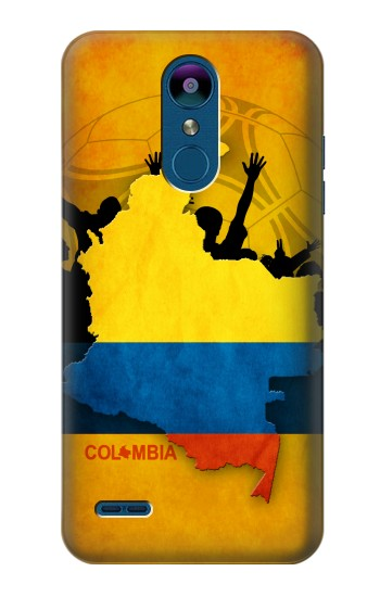 Printed Colombia Football Flag LG K8 (2018) Case