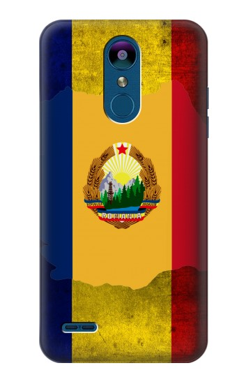 Printed Romania Flag LG K8 (2018) Case