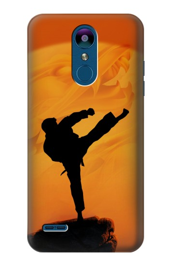 Printed Kung Fu Karate Fighter LG K8 (2018) Case