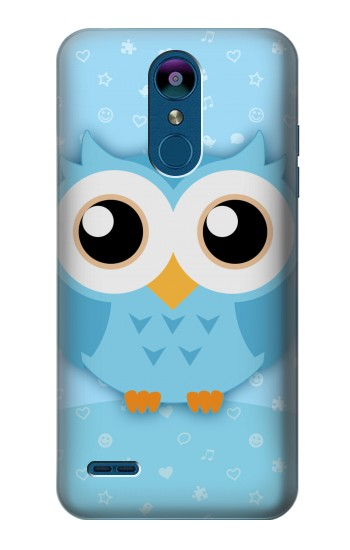 Printed Cute Blue Owl LG K8 (2018) Case