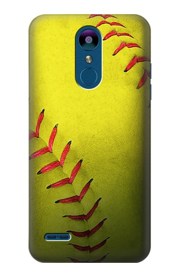 Printed Yellow Softball Ball LG K8 (2018) Case