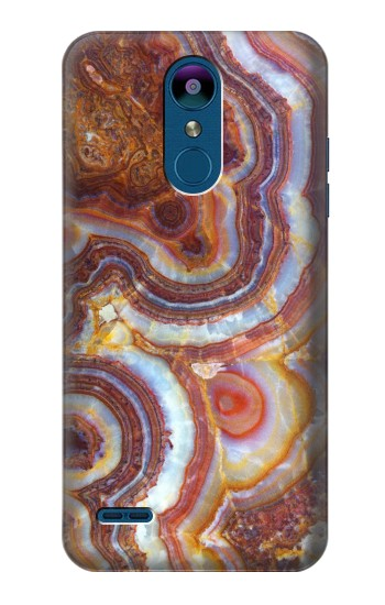Printed Colored Marble Texture Printed LG K8 (2018) Case