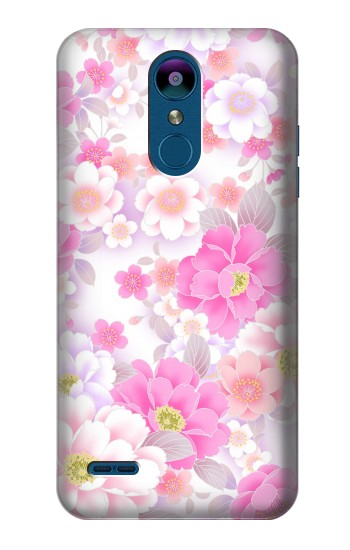 Printed Pink Sweet Flower Flora LG K8 (2018) Case