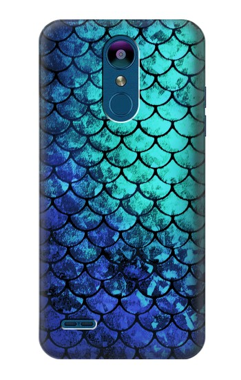 Printed Green Mermaid Fish Scale LG K8 (2018) Case
