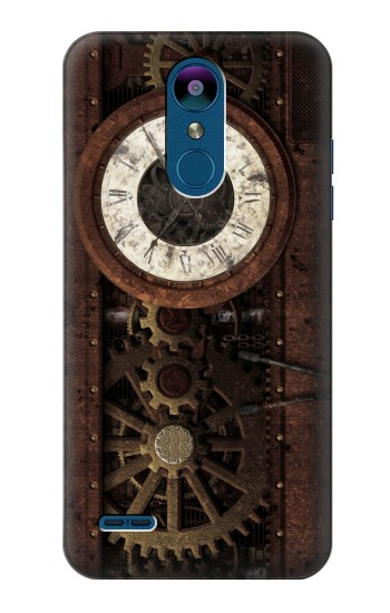 Printed Steampunk Clock Gears LG K8 (2018) Case