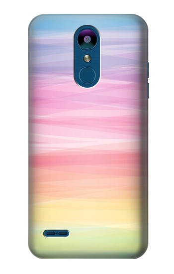 Printed Colorful Rainbow Pastel LG K8 (2018) Case
