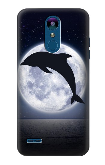 Printed Dolphin Moon Night LG K8 (2018) Case