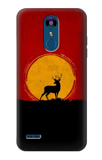 Printed Deer Sunset LG K8 (2018) Case