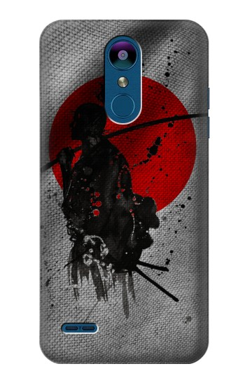 Printed Japan Flag Samurai LG K8 (2018) Case