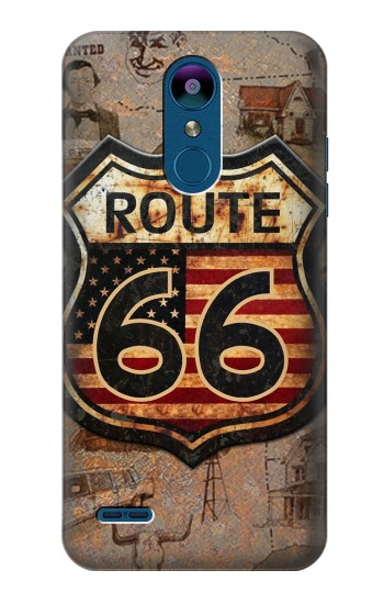 Printed Route 66 LG K8 (2018) Case