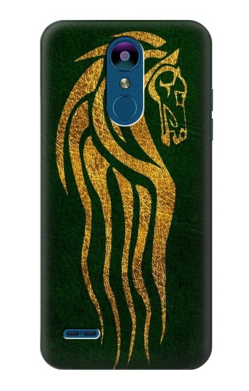 Printed Lord of The Rings Rohan Horse Flag LG K8 (2018) Case