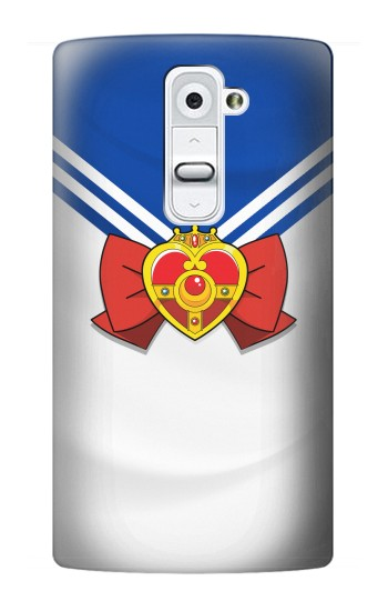 Printed Sailor Moon Brooch and Bow LG G2 Case
