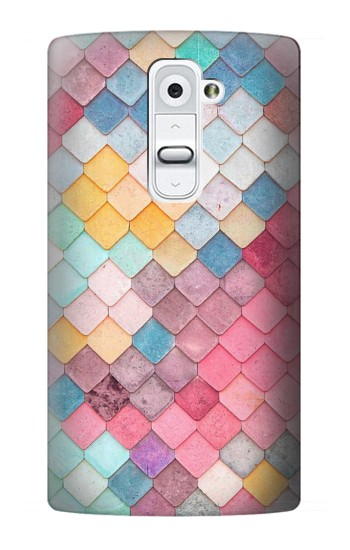 Printed Candy Minimal Pastel Colors LG G2 Case