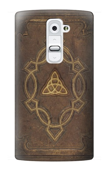 Printed Spell Book Cover LG G2 Case