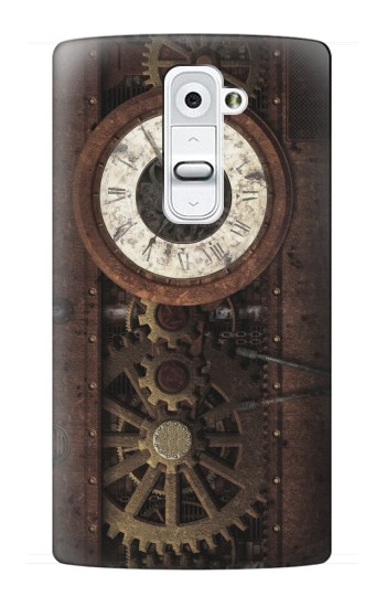 Printed Steampunk Clock Gears LG G2 Case
