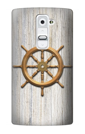 Printed Steering Wheel Ship LG G2 Case