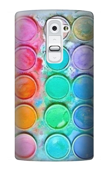 Printed Watercolor Mixing LG G2 Case