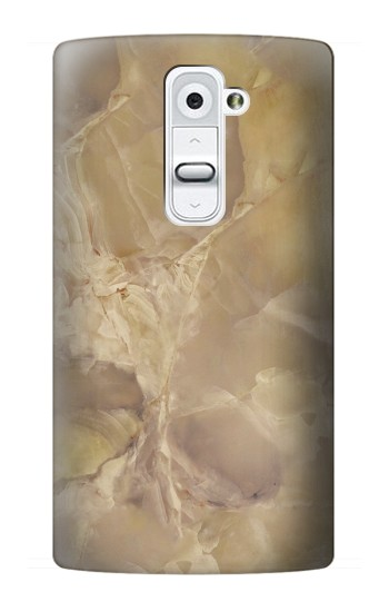 Printed Yellow Marble Stone LG G2 Case