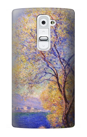 Printed Claude Monet Antibes Seen from the Salis Gardens LG G2 Case