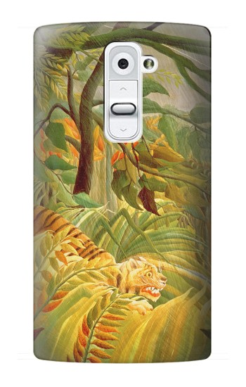 Printed Henri Rousseau Tiger in a Tropical Storm LG G2 Case