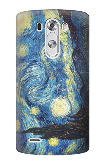 Printed Van Gogh Starry Nights LG G3 Case