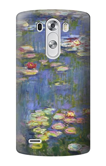 Printed Claude Monet Water Lilies LG G3 Case