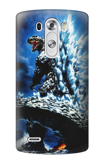 Printed Godzilla Giant Monster LG G3 Case