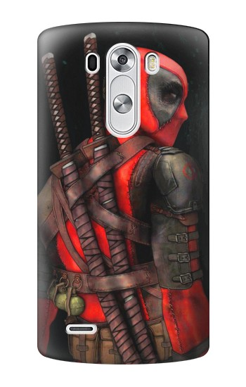 Printed Deadpool 2 LG G3 Case