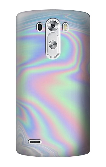 Printed Pastel Holographic Photo Printed LG G3 Case