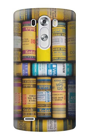 Printed MM Film Camera LG G3 Case