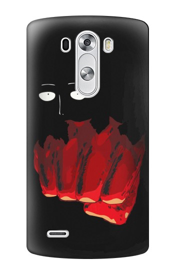 Printed One Punch Man Fight LG G3 Case