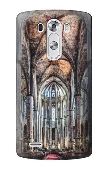 Printed Santa Maria Del Mar Cathedral LG G3 Case